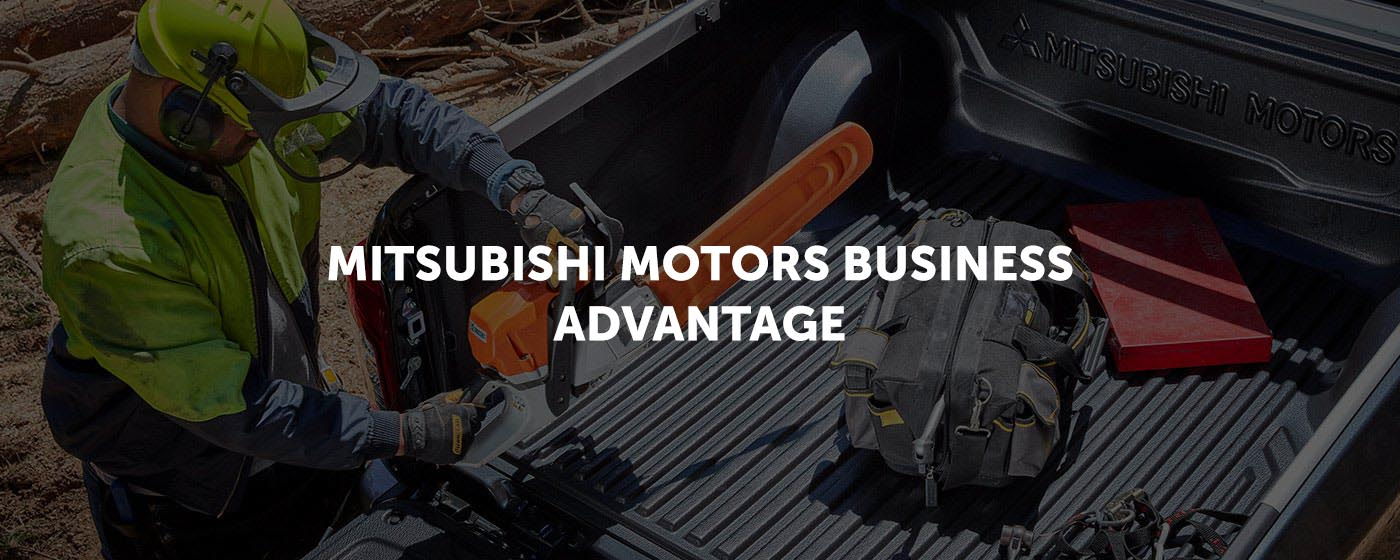 Mitsubishi Motors Business Advantage Banner